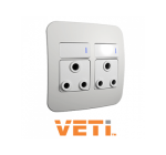 Veti Double Switch Socket